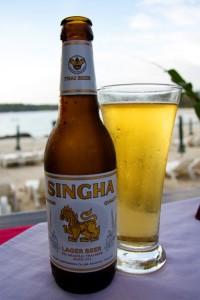 Тайское пиво Singha